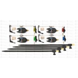 Set 4 Avertizori / Senzori Marca FL 4 Swingeri Lumino Si Tije /Picheti
